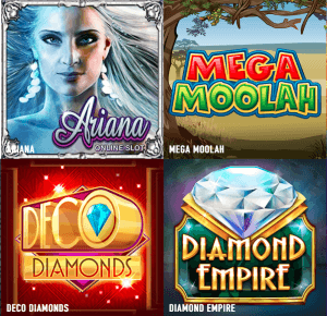 Games at BetVision casino include slots, table and live dealer games