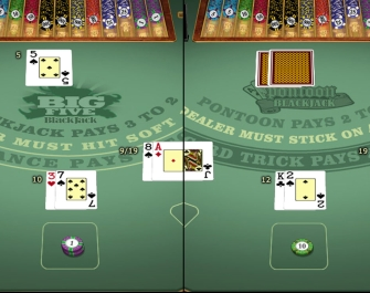Casino Action offer more than 40 variants of blackjack to it's customers