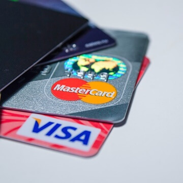 visa and mastercard are just 2 ways to make a casino deposit