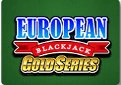 Table game - European Blackjack gold