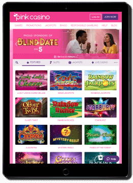 You can access Pink Casino from anywhere through the native mobile app