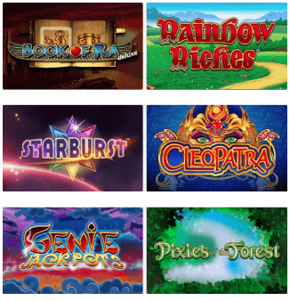 Games at Slot Boss Casino are divided into five categories